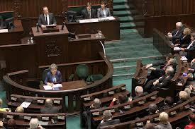 Intervention devant le Parlement Polonais pour témoigner de l'expérience française en matière de quotas dans les CA