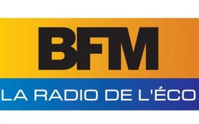 Interviewée sur le plateau de l'émission «Paris est à vous» sur BFM Business le 7 octobre 2014