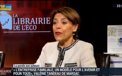 Interviewée dans «La parole aux auteurs» dans l'émission «La librairie de l'éco» diffusée par BFM Business le 22 novembre 2014